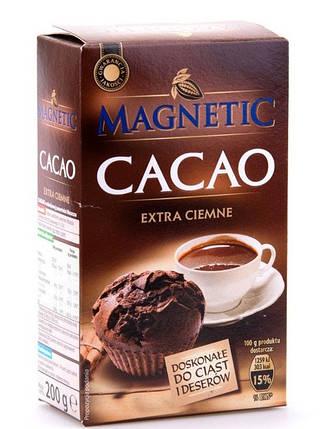Какао Magnetic Cacao extra ciemne 200g Польша, фото 2