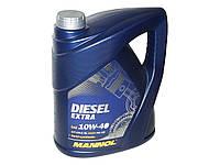 Масло моторное MANNOL Diesel Extra п/синт. 10w40 5L CH-4/SJ
