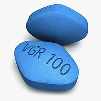 Таблетки для потенции Дженерик Виагра 100 МГ (СИЛДЕНАФИЛ) 1шт
