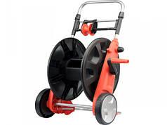 """YATO Стійка з котушкою на колесах для шлангу  з направляюч.  Ø-1/2""""▬50 м; Ø-3/4""""▬45 м"""
