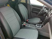 Авточехлы из экокожи на  Opel Astra H с 2004-2011г. купе. (увеличенная поддержка передних сидений)