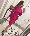 Женский стильный костюм из жаккарда (4 цвета), фото 4