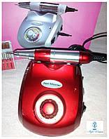 Фрезерний апарат фрезер Nail Drill Master 30 000 оборотів(30W) червоний, фото 1