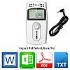 Регистратор температуры Elitech RC-4 (Великобритания) (-40 ° C - + 85 ° C) Память 16000. PDF, Word, Exel, TXT