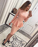 Женский красивый костюм из жаккарда (4 цвета), фото 3