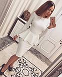 Женский красивый костюм из жаккарда (4 цвета), фото 7