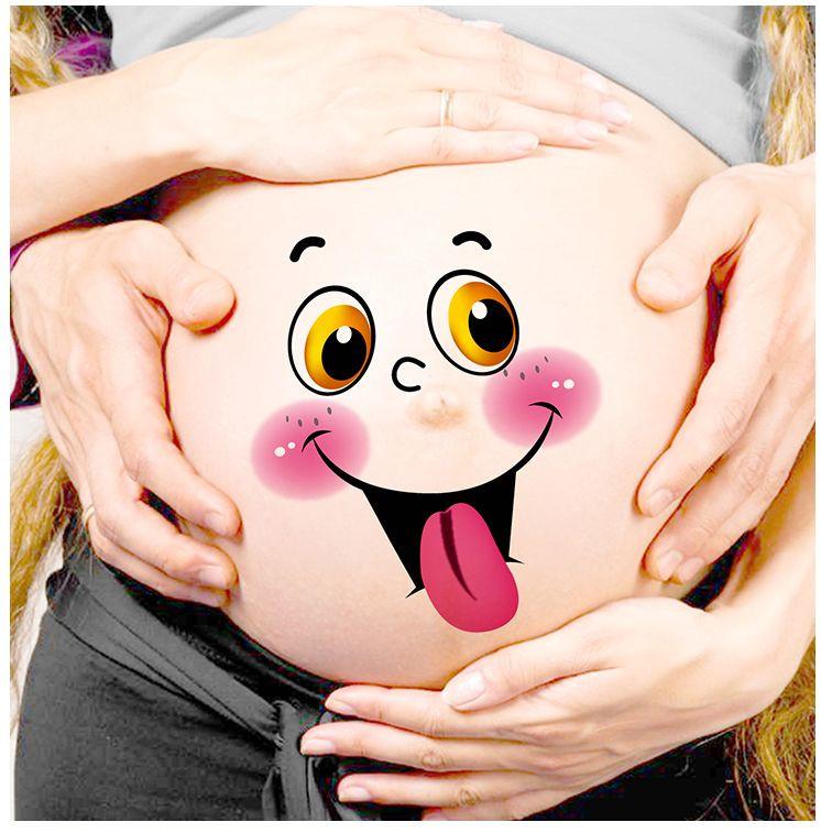 Живот беременной картинки прикольные