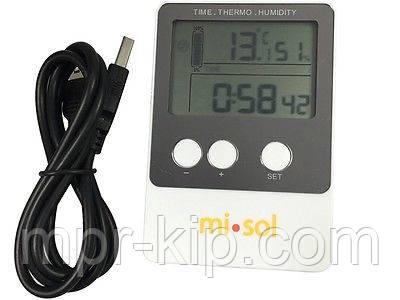 Регистратор температуры и влажности Misol DS102 (T: -40 °C to 60 °C; RH:1% - 99%) Память: 20736. Калибруется!