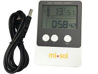 Регистратор температуры и влажности Misol DS102 (T: -40 °C to 60 °C; RH:1% - 99%) Память: 20736. Калибруется!, фото 1