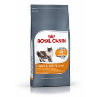 Royal Canin Hair&Skin Care - корм для кошек от 1 до 7 лет с проблемной кожей и шерстью 4 кг