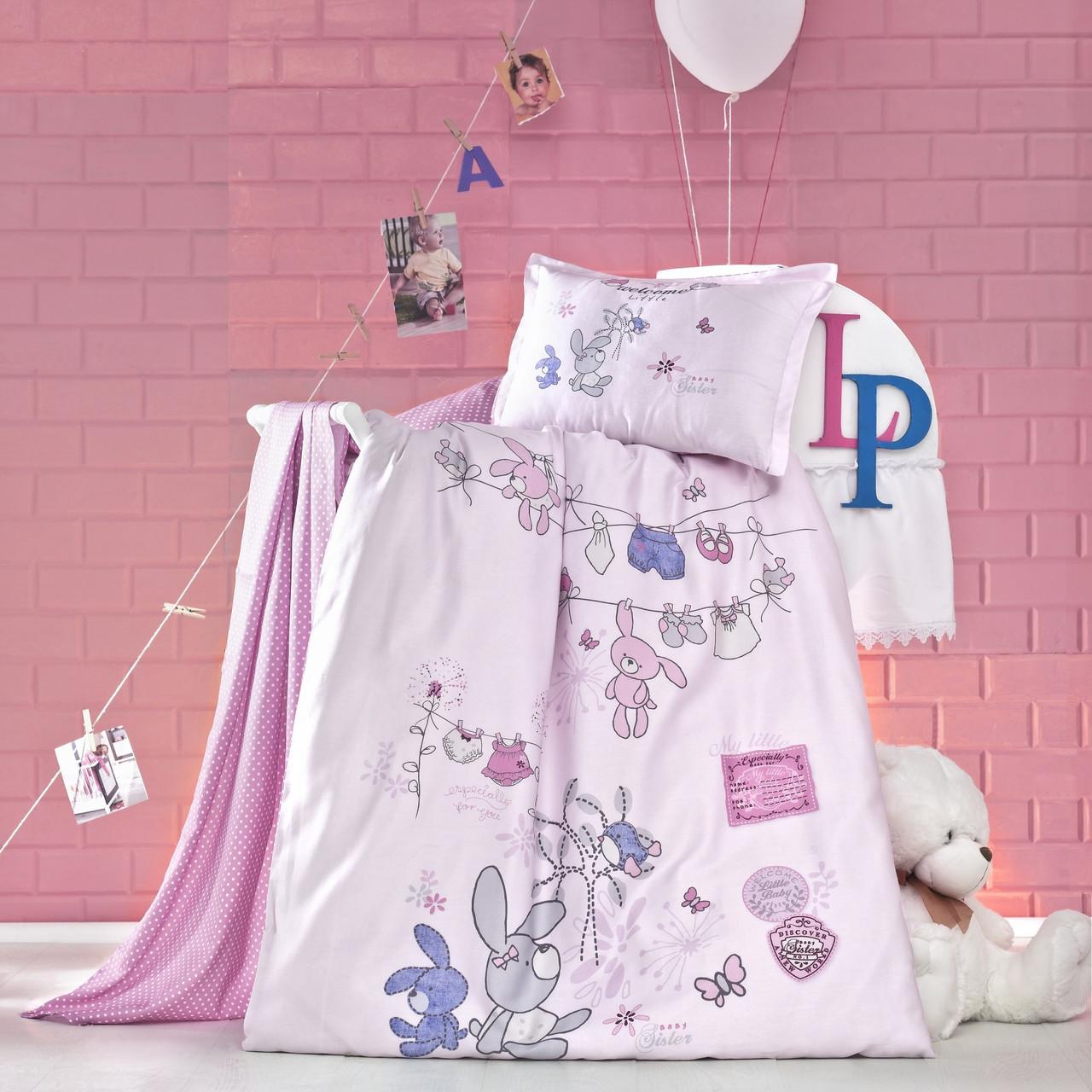 Комплект детского постельного белья Little, Luoca Patisca