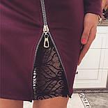 Женское стильное платье со змейкой (4 цвета), фото 9