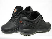 Обувь мужская кожаная спорт на шнурках ECCO реплика