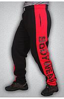 Мужские спортивные зимние штаны красные, фото 1