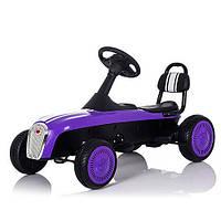 Детский Карт педальный M 3413-9, фиолетовый