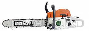 Бензопила Iron Angel СS600 (4.5 л.с.., шина 45 см, полупроф.) Бесплатная доставка
