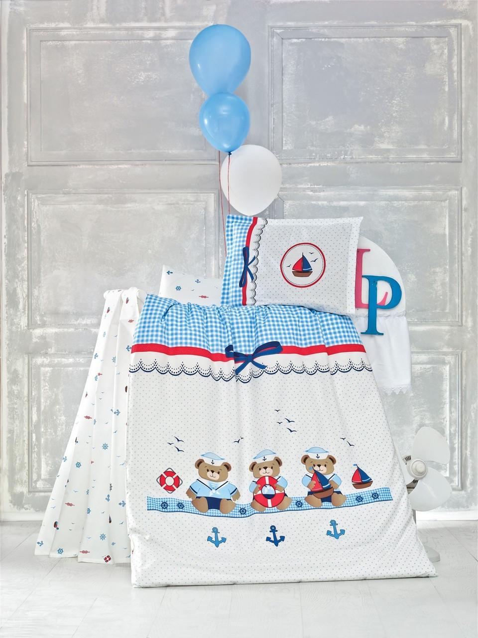 Комплект детского постельного белья Sailor, Luoca Patisca