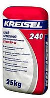 Клей для мінеральної вати та сітки Kreisel 240 25кг