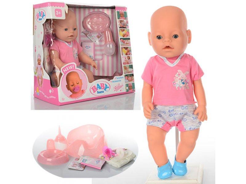 """Пупс """"Baby Born""""  BB 8009-435-Sфункциональный"""