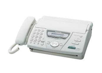 Факс Panasonic KX-FT78 на термобумаге, White, бу