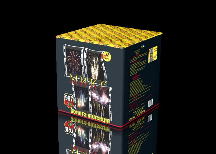 Салютная установка фейерверк 36 выстрелов CGF-997