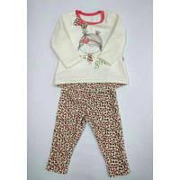 Комплект для девочки (брюки и реглан) 461-513 ТМ Фламинго