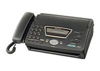 Факс Panasonic KX-FT72 на термобумаге Black, бу