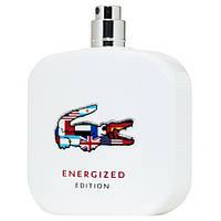 Lacoste Eau De L.12.12 Energized туалетная вода 100 ml. (Тестер Лакост Эу Де Л.12.12 Энерджи)