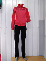 Женский утепленный спортивный костюм