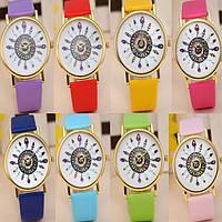 Оригинальные модные  женские часы ,11 цветов