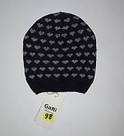 Детская шапочка для девочек в сердечки Gatti