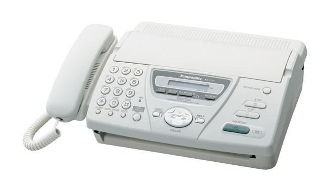 Факс Panasonic KX-FT72 на термобумаге White, бу