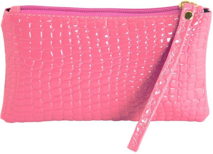 Женская косметичка из экокожи Traum 7203-13, розовая