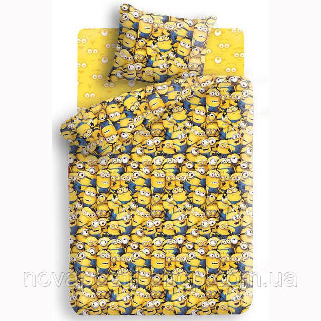 Комплект постельного белья Миньоны подростковый