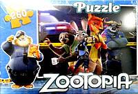"""Пазл """"Zootopia""""( 260-011 )"""