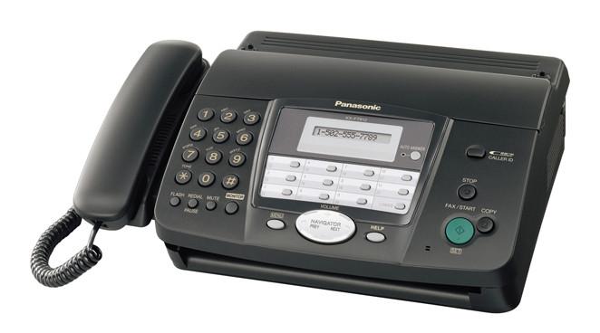 Факс Panasonic KX-FT912UA на термобумаге, бу
