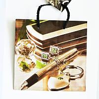 Подарочный пакет ЧАШКА 16х16х7,5 Аксессуары (мужской)