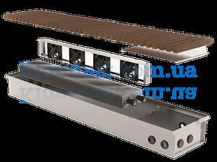Внутрипольные конвекторы с бесшумными вентиляторами KVK теплоотдача от 940 до 18 980 ват