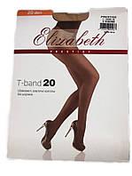Женские колготки Elizabeth Prestige t-band 20 den visone