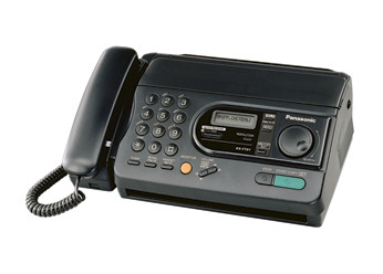 Факс Panasonic KX-FT31RS на термобумаге, бу