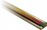 DIN-рейка e.din.stand.rail.301, G-образная, перфорированная, 1м, глубина 15мм, толщина 1,5мм