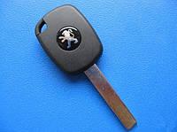 Peugeot - заготовка ключа под 4D, HU83
