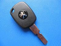 Peugeot - заготовка ключа под 4D, NE78