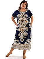 Женское платье с карманами 1204-5