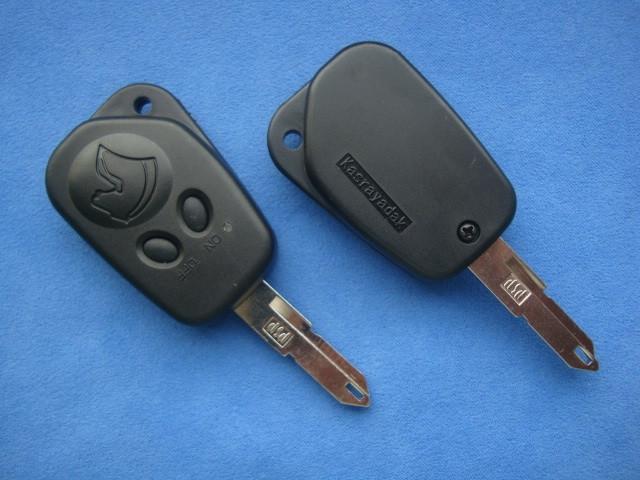 peugeot корпус ключа с кнопками