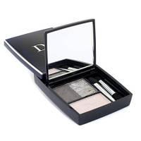 Christian Dior Тени 3-цветные компактные для век 3 Couleurs Smoky, 051 сине-розовый 5.5 g