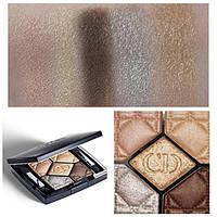 Christian Dior Тени для век 5 Couleurs, 566 золотисто-коричневый 6 g