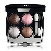 Chanel Тени 4-цветные компактные для век Les 4 Ombres, 14 терракотово-розовый 1.2 g