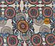 Ткань для скатерти рогожка Абстракция 150 см (383231), фото 3