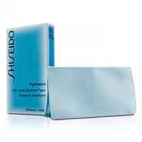 Shiseido Салфетки для лица Pureness Oil-Control Blottin g Paper жен., матирующие для комбинированной, жирной кожи 100шт